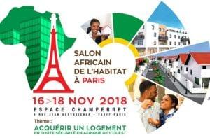 Salon Africain de l'habitat à PARIS