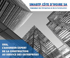 PUB : SMABTP CÔTE D'IVOIRE – ASSUREUR